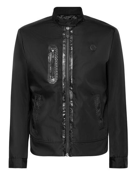 Jacket with Python Luxury