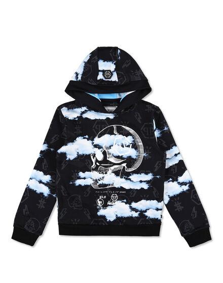 Hoodie sweatshirt Clouds