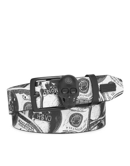 Belt skull buckle Dollar