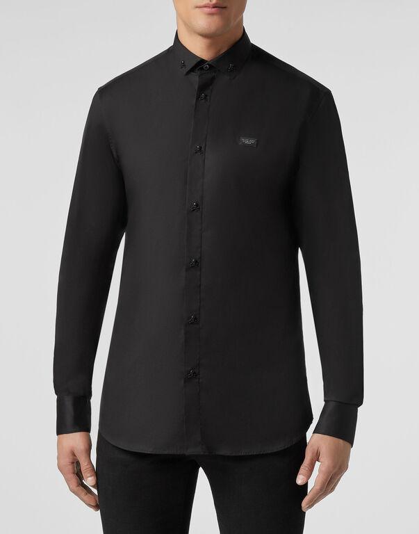 Shirt Platinum Cut LS Statement