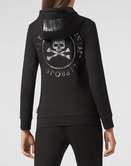 Hoodie Sweatjacket XYZ Crystal