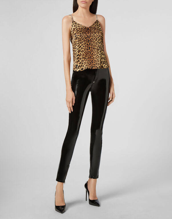 Tank Top Holiday Leopard