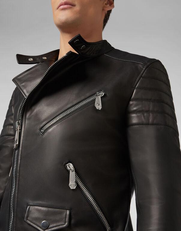 Leather Biker Statement