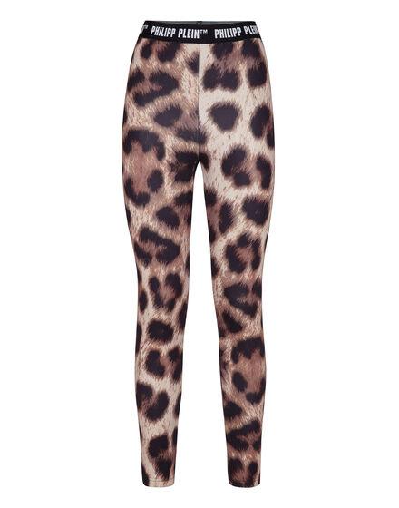 Biker Trousers Leopard