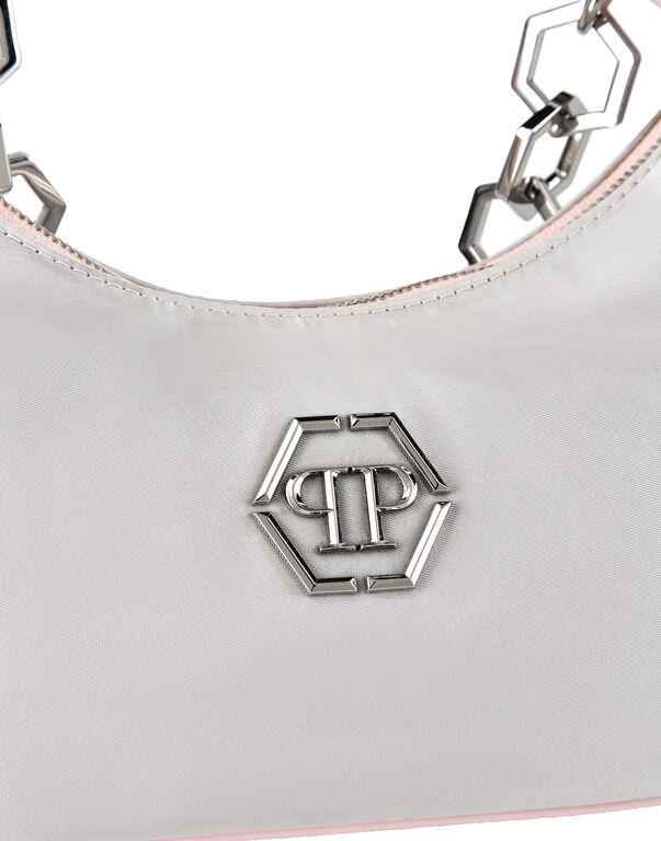 Nylon Shoulder Bag Hexagon