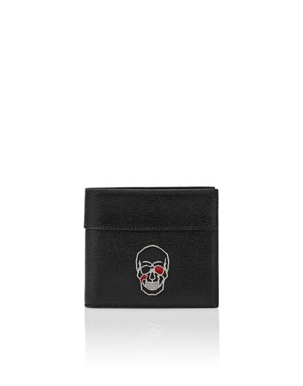 Pocket wallet Skull