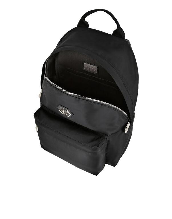 Nylon Backpack Hexagon
