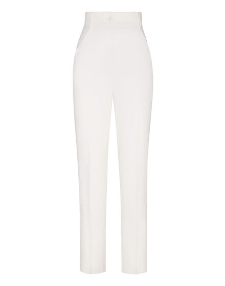 Cady Long Trousers Embroidery New Baroque