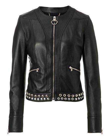 Leather Jacket Brickston