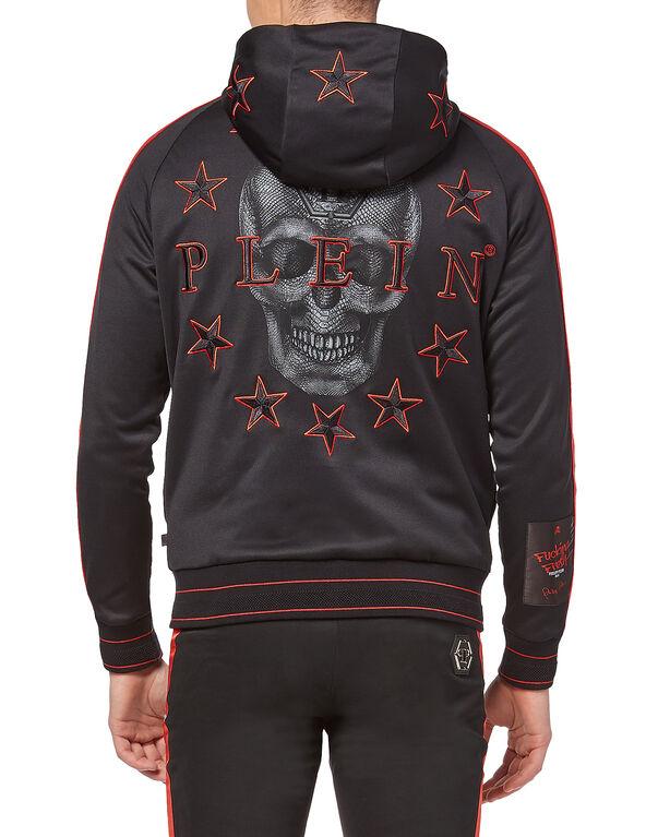"""Hoodie Sweatjacket """"Skull stars"""""""