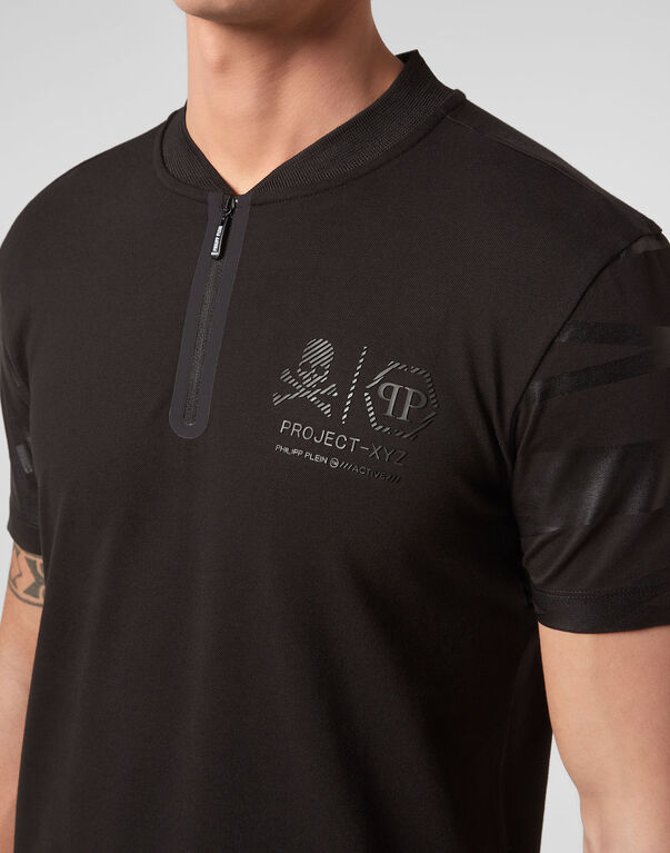 Polo shirt SS XYZ Skull and Plein