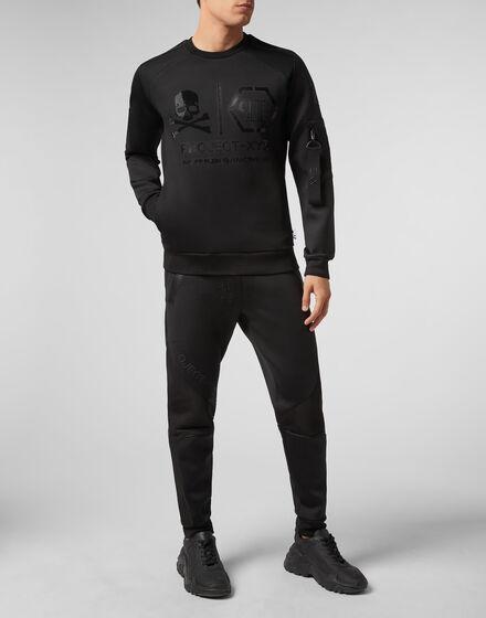 Sweatshirt LS XYZ Skull and Plein
