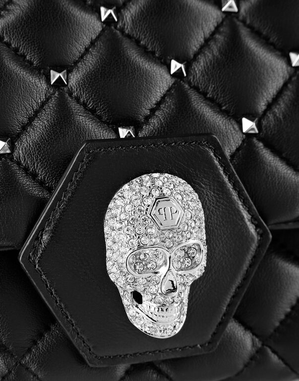 Shoulder Bag Skull and studs
