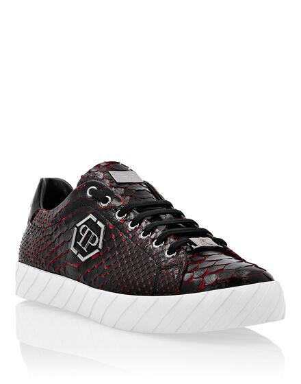 Lo-Top Sneakers Python Luxury