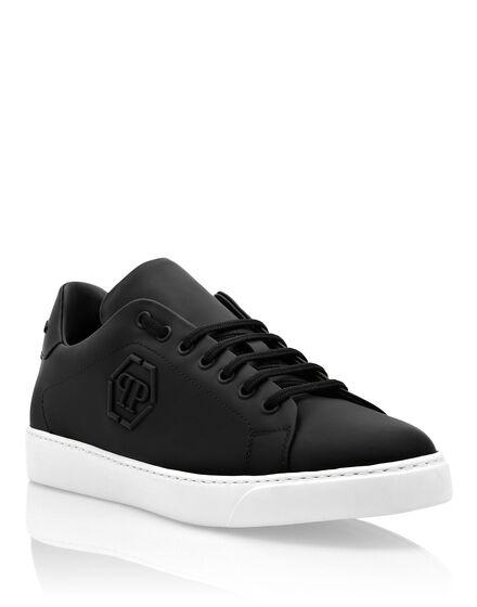 Rubber Leather Lo-Top Sneakers The Plein Original TM
