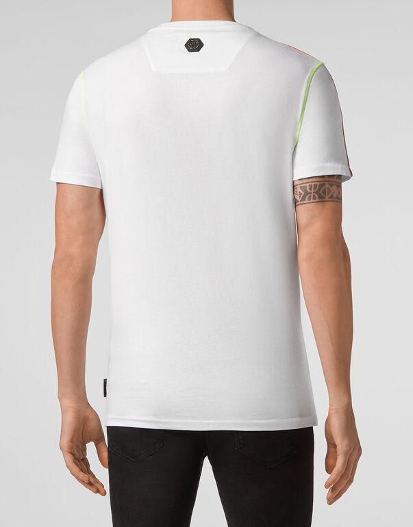 T-shirt Round Neck SS Fluo
