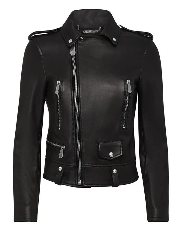 Leather Biker Statement