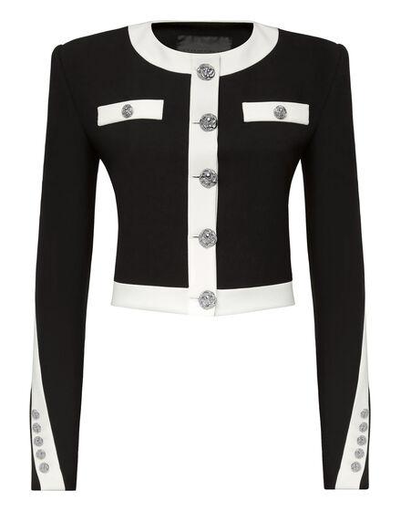 Cady Black and White Jacket