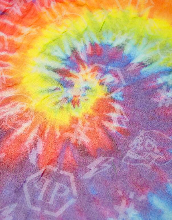 Shawl 140x140 Tie dye