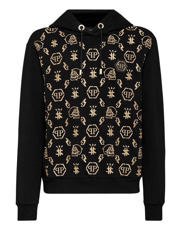 Hoodie sweatshirt Monogram