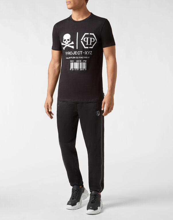 T-shirt Round Neck SS XYZ Skull and Plein