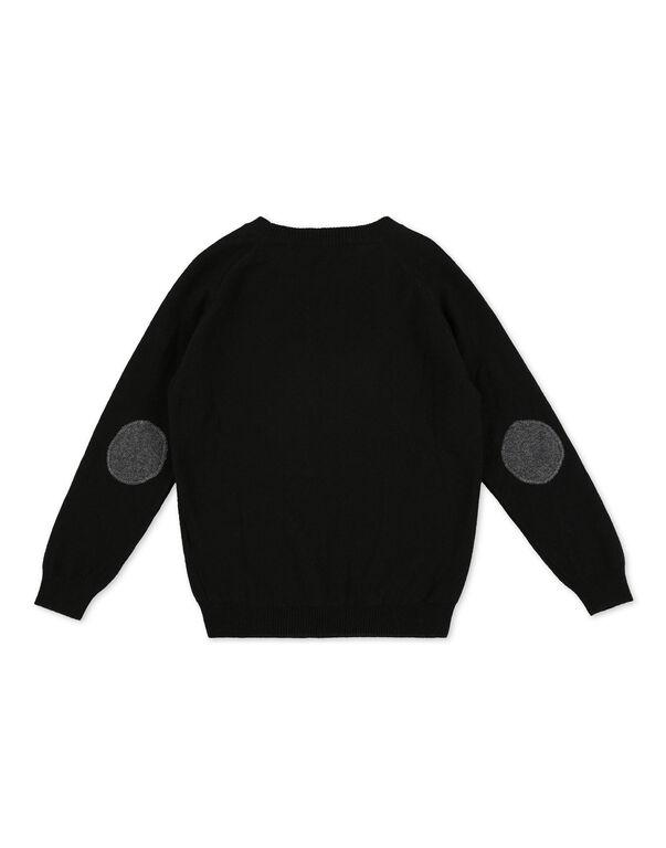 Pullover Round Neck LS Hexagon
