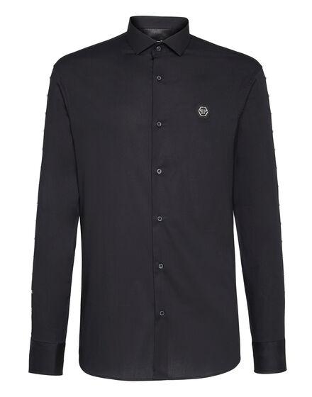 Shirt Platinum Cut LS Stars