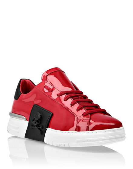PHANTOM KICK$ Lo-Top Patent Leather