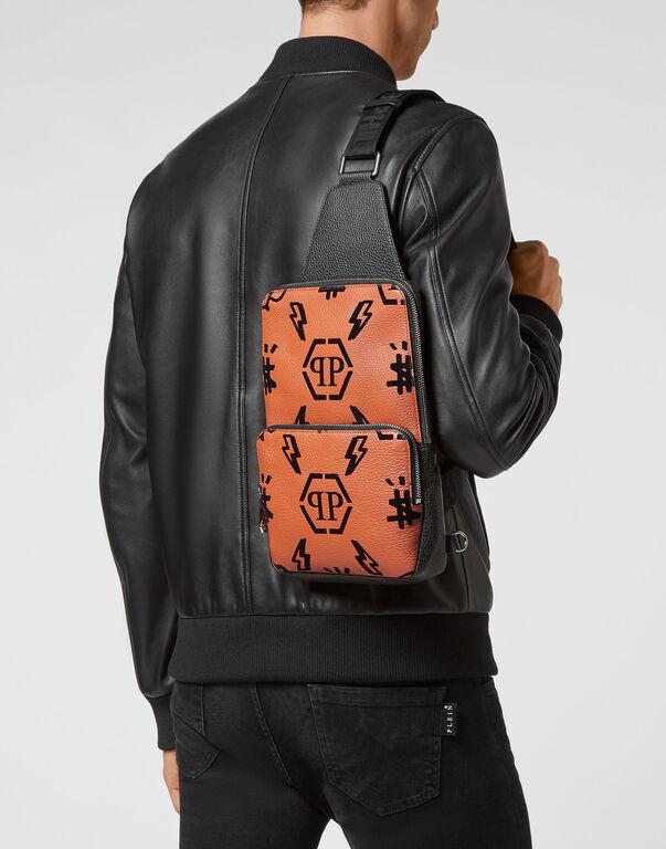 Leather Cross body Monogram