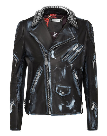 Leather Biker Teddy Bear