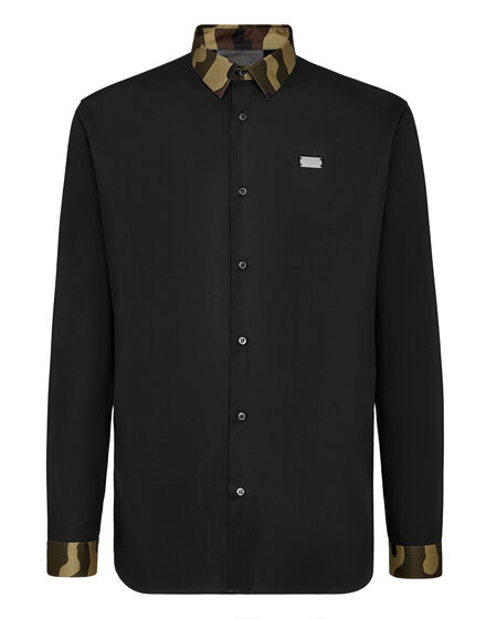 Shirt Gold Cut LS Camouflage