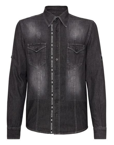 Denim Shirt Ls Philipp Plein TM