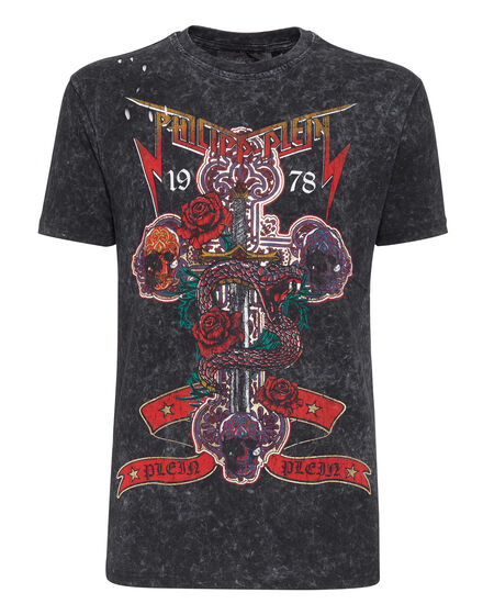 T-shirt Round Neck SS Rock PP