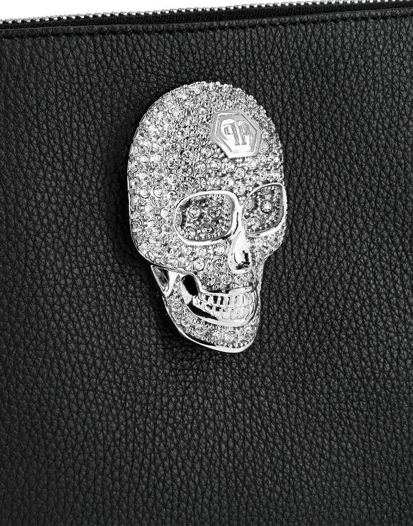 Minaudiere Skull crystal
