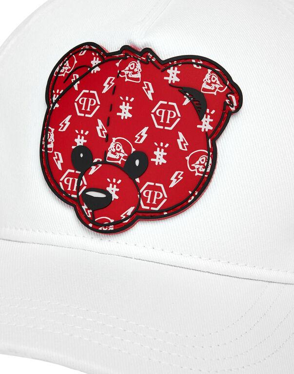 Baseball Cap Teddy Bear