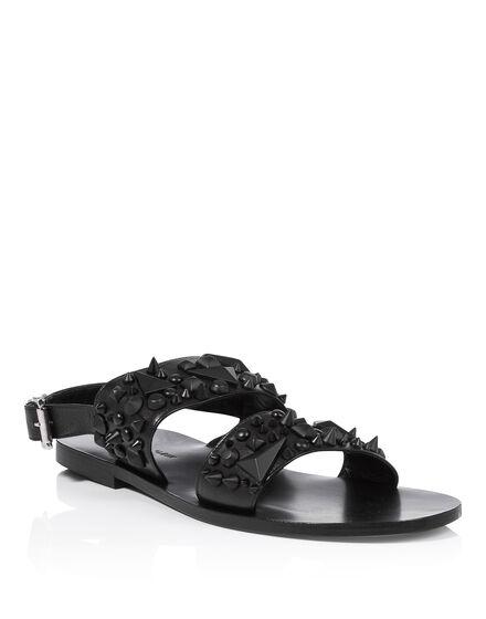 Sandals Flat hot June