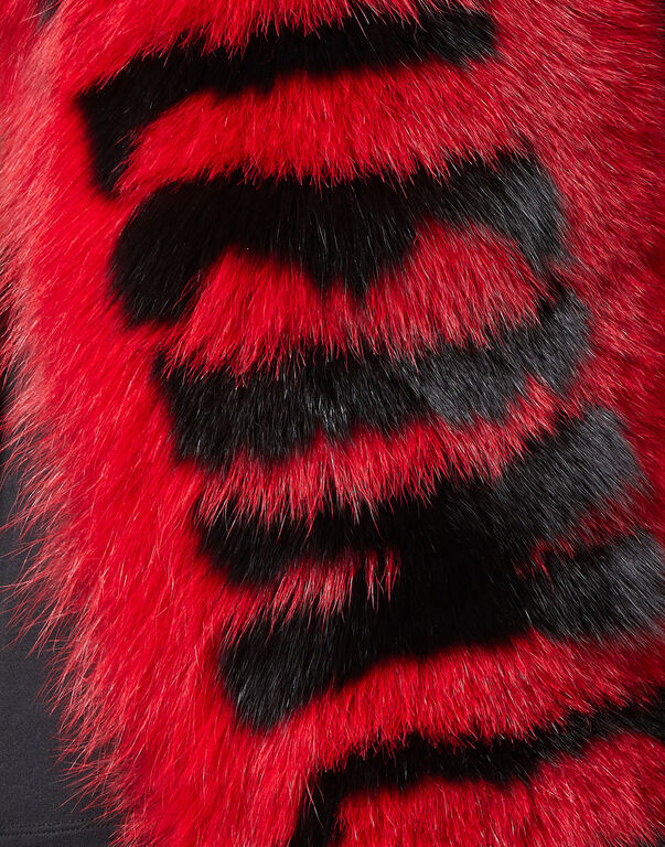 """Fur collar  """"You and Me"""" Luxury"""