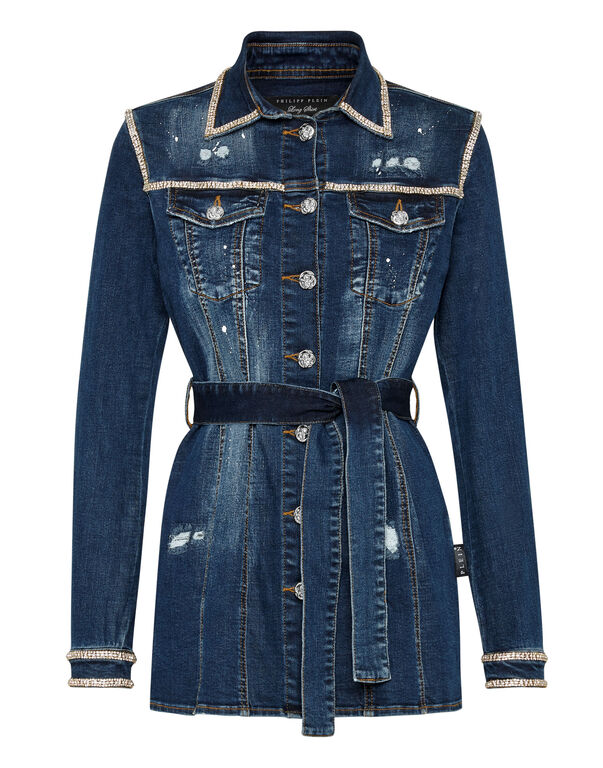 Denim Dress Crystal