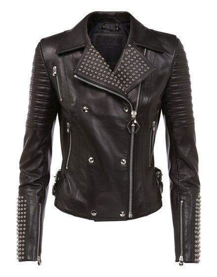 Leather Biker Dunn Marlene