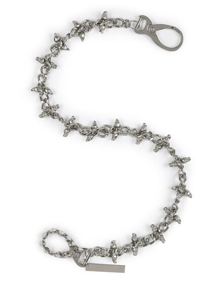 Metal chain Skull