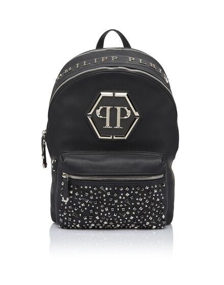 Backpack Metal diamond backpack