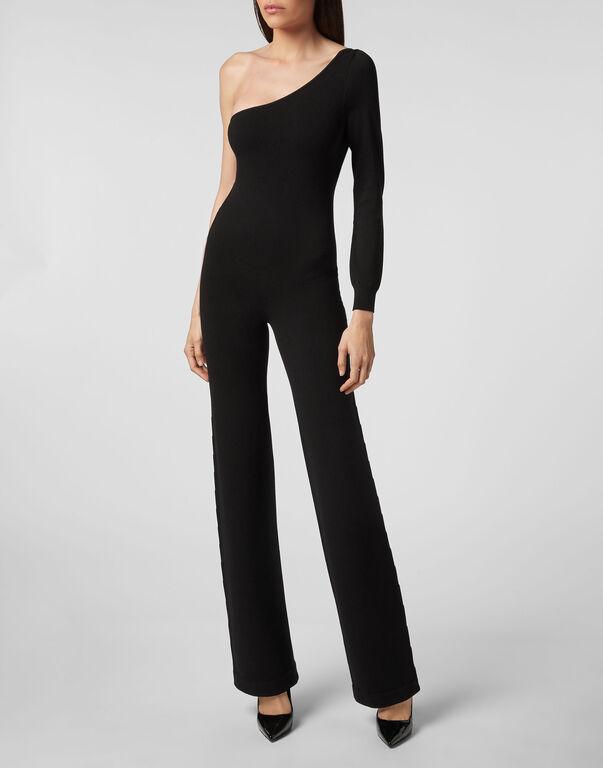 Knit Jump Suit Elegant