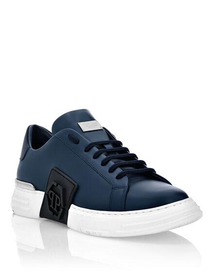 Leather PHANTOM KICK$ Lo-Top Sneakers Iconic Plein