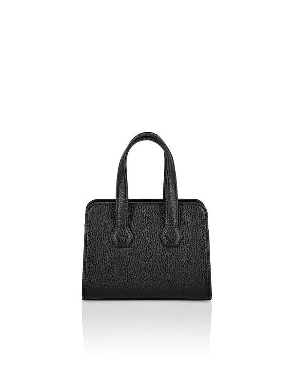 Leather Handle bag Iconic Plein