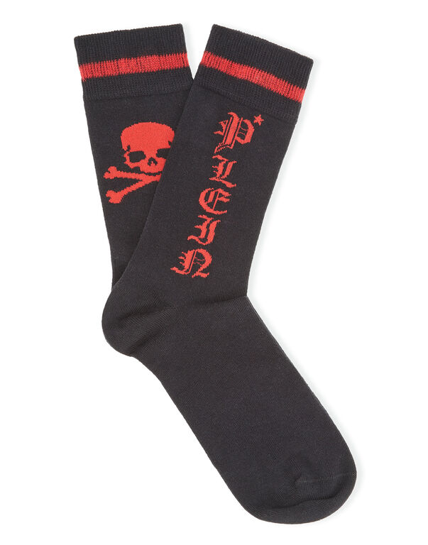 Socks long Gothic Plein