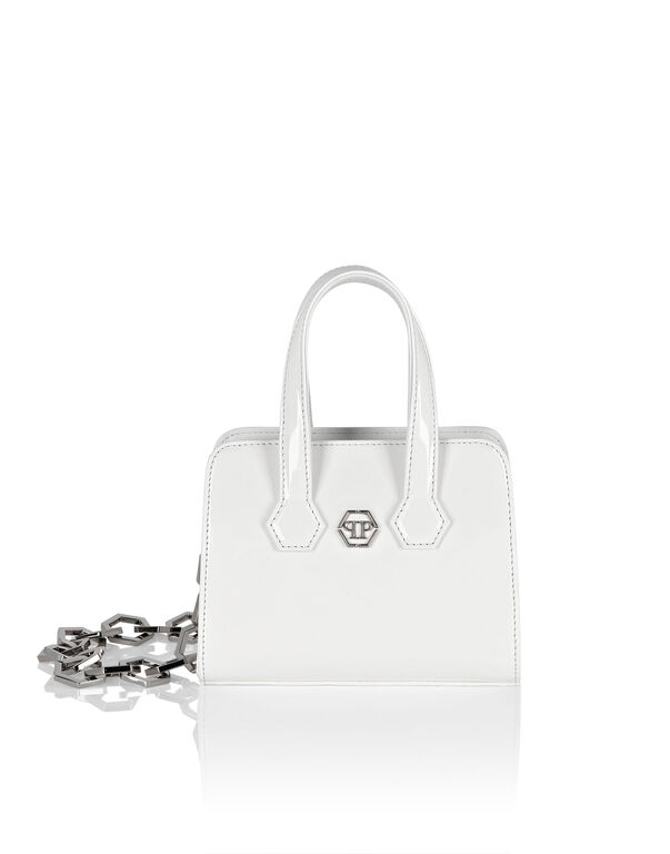 Patent Leather Handle bag Iconic Plein
