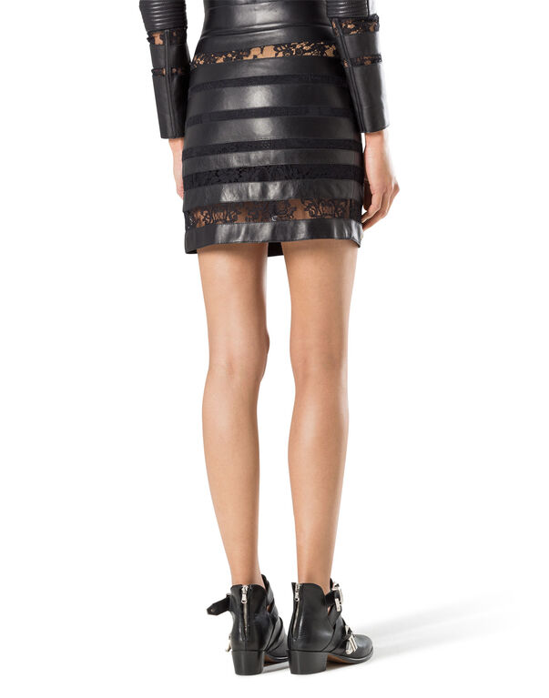 "leather skirt ""provocation"""