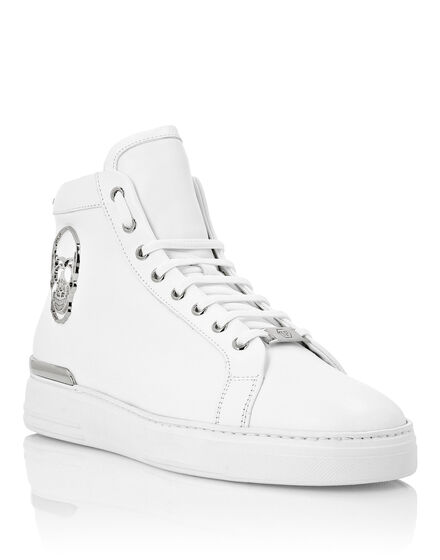Hi-Top Sneakers The $kull TM