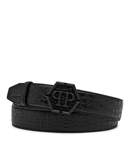 Belt Matt Croco Luxury