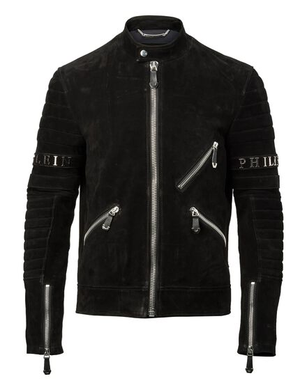 Leather Moto Jacket Xavier